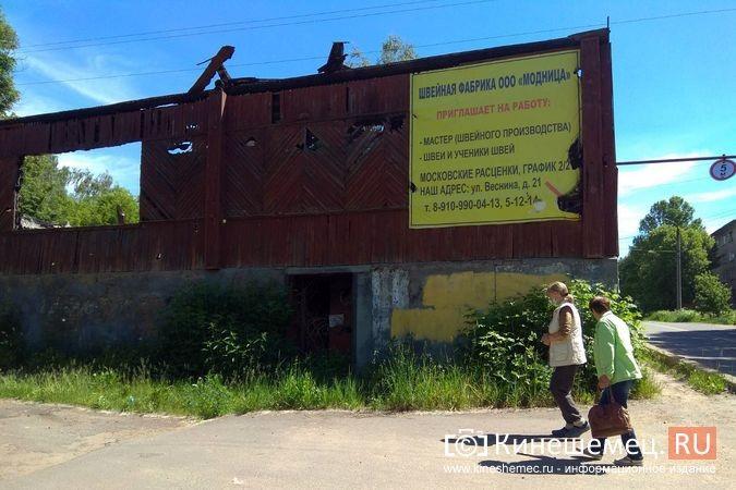 Жители с ул.Веснина в «Озерках» требуют сноса развалин на месте сгоревшего швейного цеха фото 3