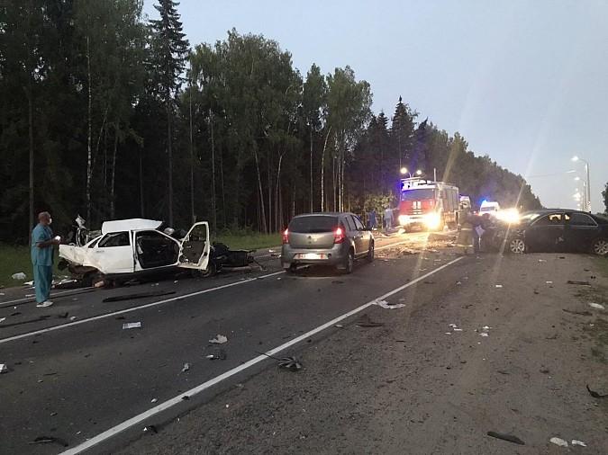 На трассе Иваново - Фурманов в ДТП погибли три человека. фото 2