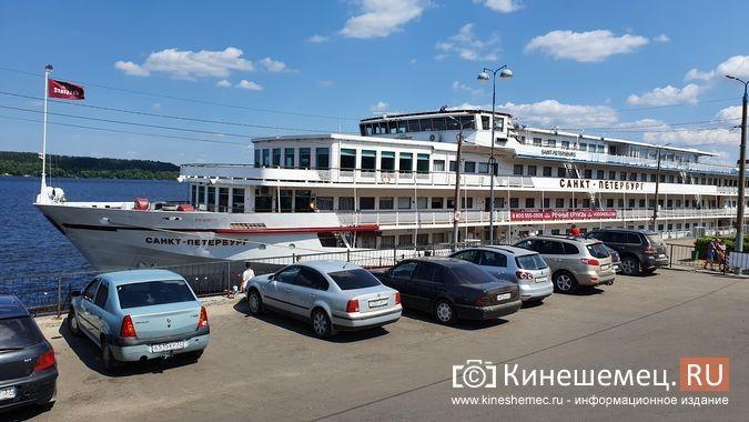 К причалу Кинешмы пришвартовался теплоход «Санкт-Петербург» фото 2