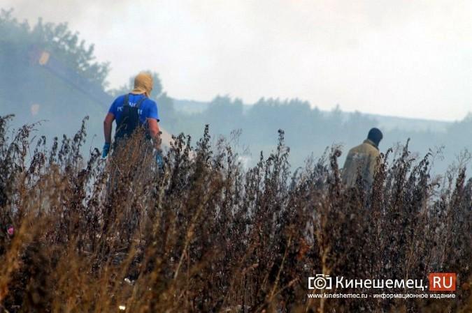 В Кинешме экологическая беда - горят тонны мусора на городской свалке в «Сокольниках» фото 7