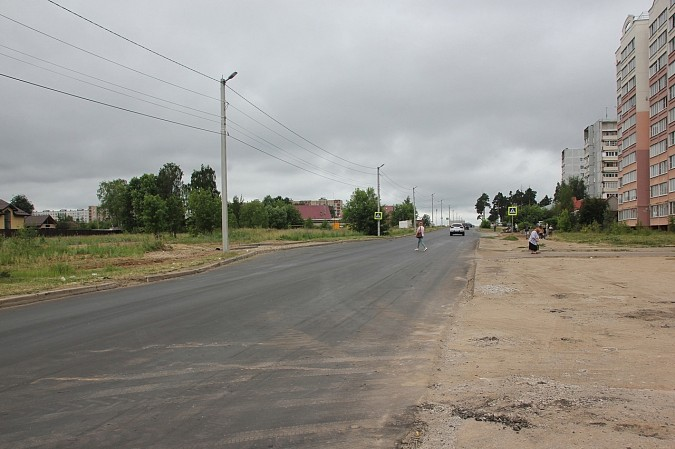 Новый тротуар на улице Гагарина должны обустроить к сентябрю фото 2