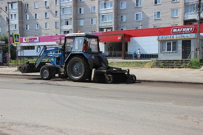 В Кинешме дорожники приступили к фрезерованию дороги по ул. Красноветкинской фото 6