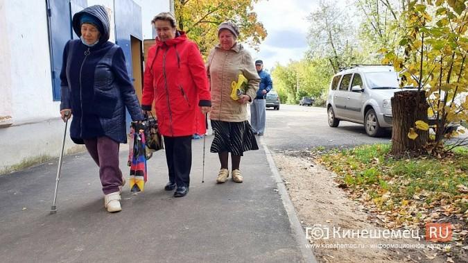 В Кинешме незрячих инвалидов лишили безопасного прохода по тротуару на ул.Бредихина фото 5