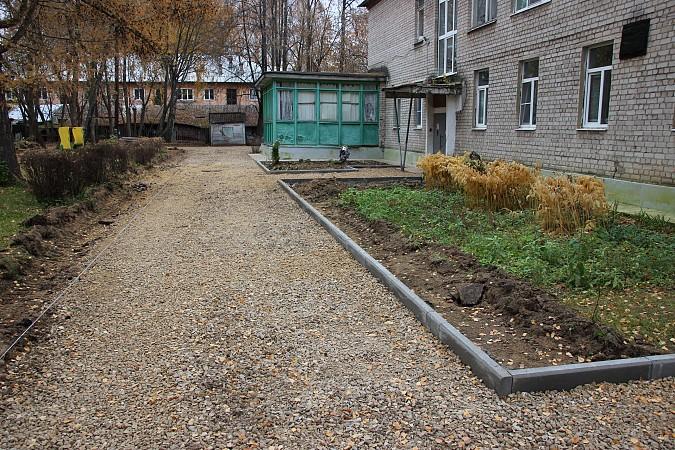 В Кинешме продолжается ремонт территорий детских садов фото 3