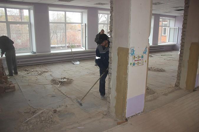 В Кинешме приступили к ремонту детского сада №46 с трещинами в стенах фото 5
