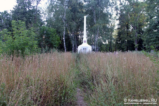 Память о погибших кинешемцах заросла травой фото 2