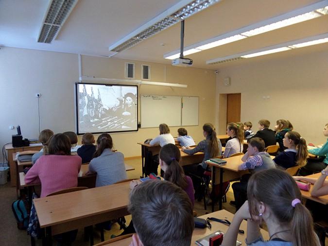 Метроном блокадного Ленинграда звучал в кинешемской школе фото 2