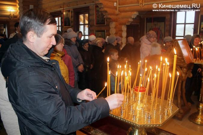 В Кинешме освятили новый православный храм фото 16
