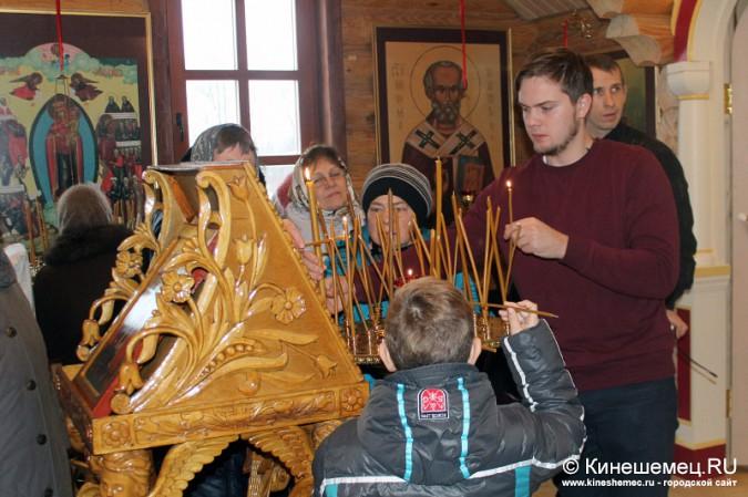 В Кинешме освятили новый православный храм фото 11