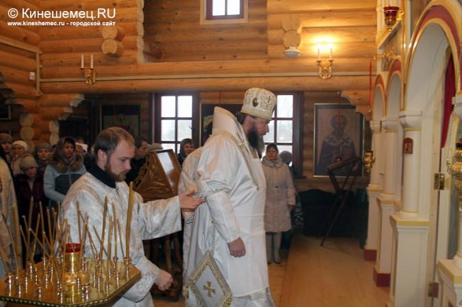 В Кинешме освятили новый православный храм фото 10