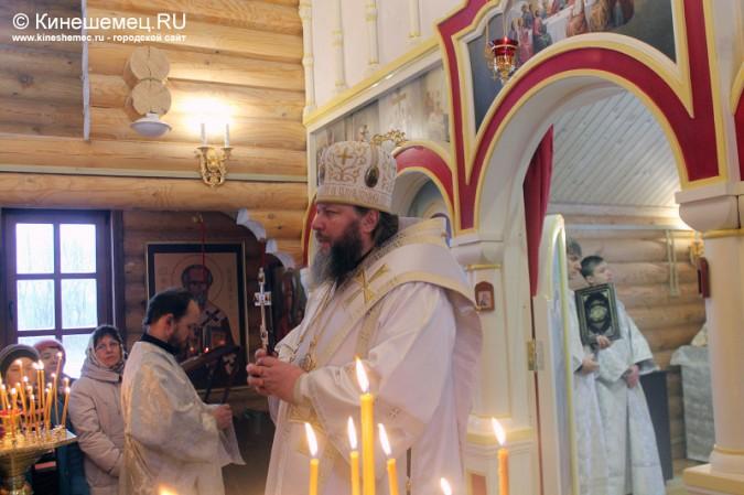 В Кинешме освятили новый православный храм фото 18