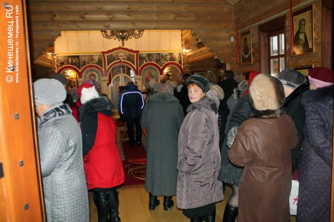 В Кинешме освятили новый православный храм фото 4