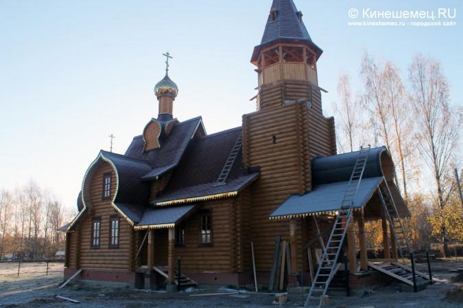 В Кинешме освятили новый православный храм фото 2
