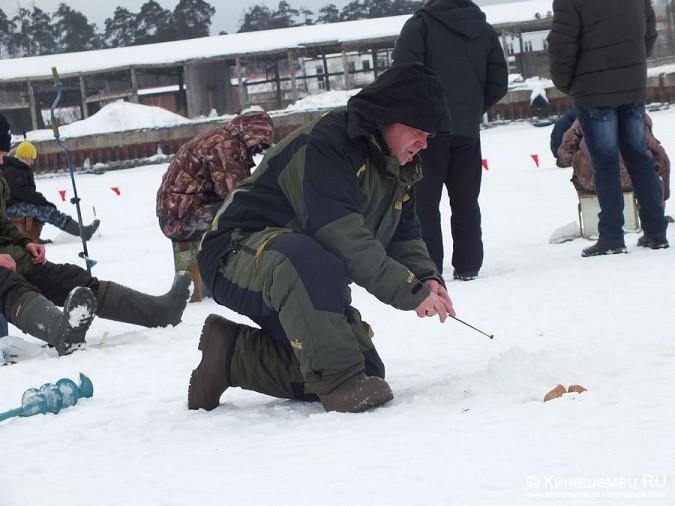 Соревнования по зимней ловле рыбы на мормышку прошли в Кинешме фото 19