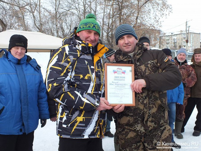 Соревнования по зимней ловле рыбы на мормышку прошли в Кинешме фото 59