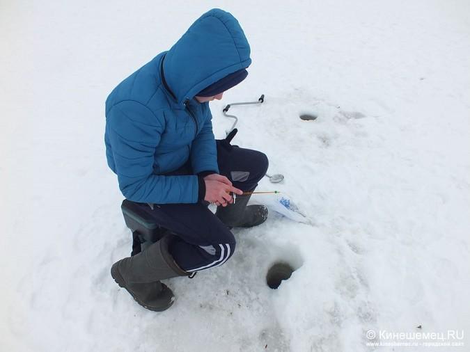 Соревнования по зимней ловле рыбы на мормышку прошли в Кинешме фото 28
