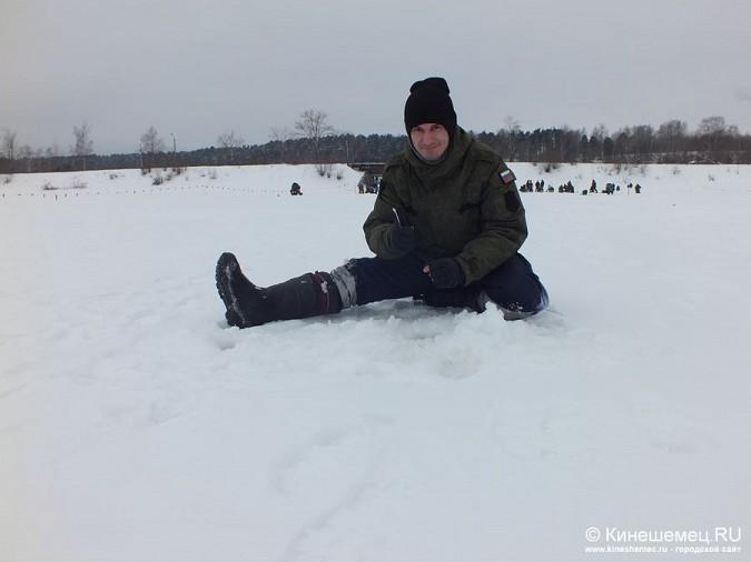 Соревнования по зимней ловле рыбы на мормышку прошли в Кинешме фото 29