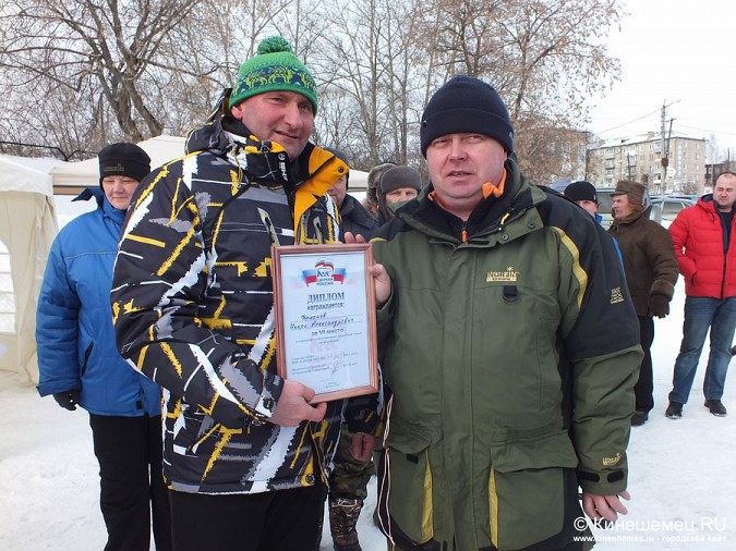 Соревнования по зимней ловле рыбы на мормышку прошли в Кинешме фото 57