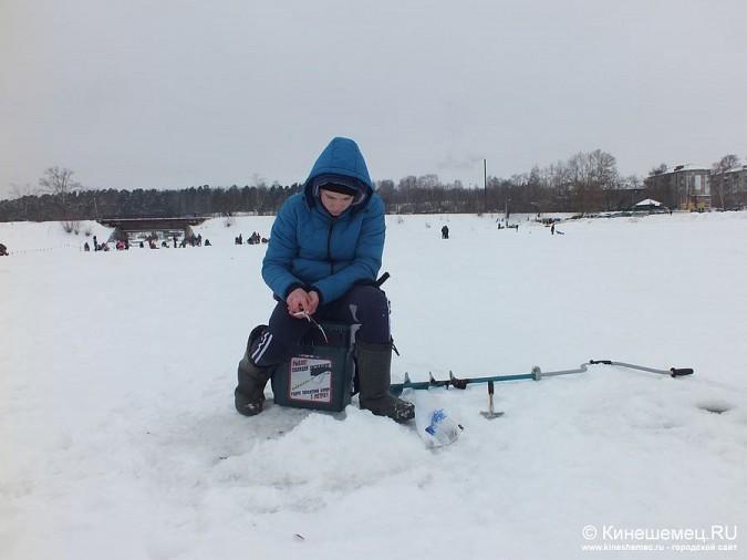 Соревнования по зимней ловле рыбы на мормышку прошли в Кинешме фото 27