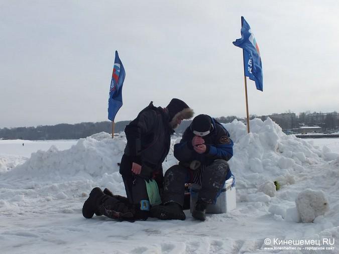 Соревнования по зимней ловле рыбы на мормышку прошли в Кинешме фото 50