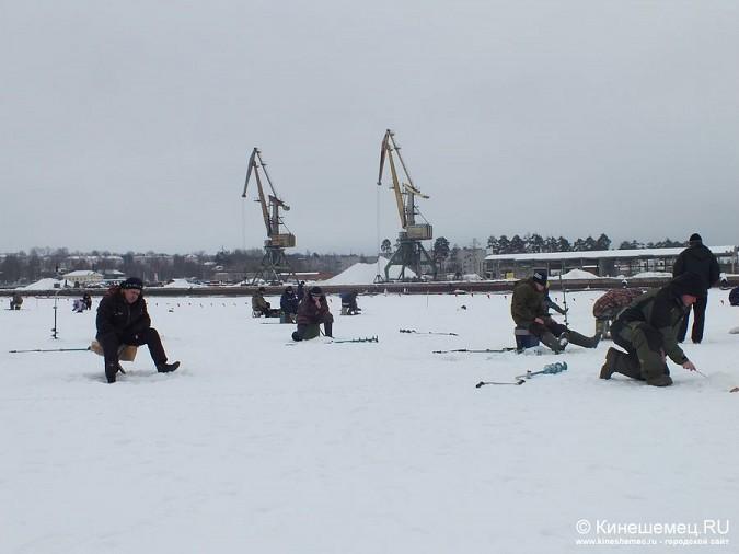 Соревнования по зимней ловле рыбы на мормышку прошли в Кинешме фото 18