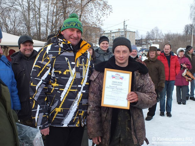 Соревнования по зимней ловле рыбы на мормышку прошли в Кинешме фото 65