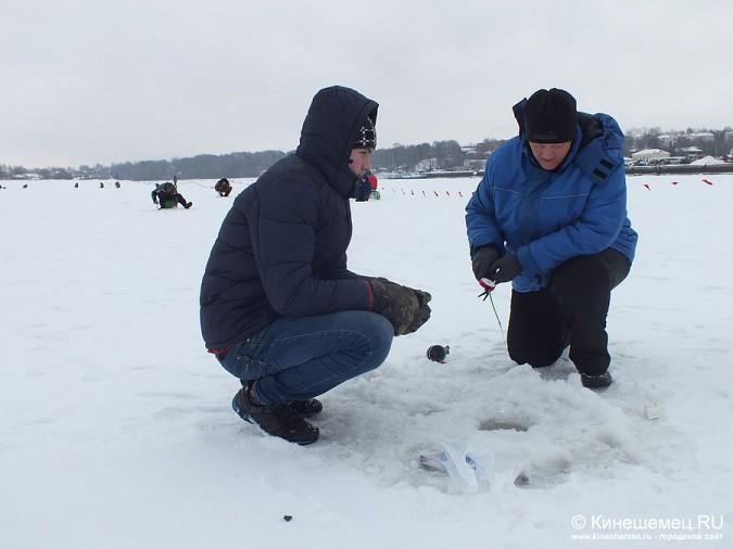 Соревнования по зимней ловле рыбы на мормышку прошли в Кинешме фото 7