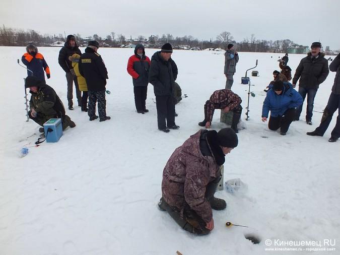 Соревнования по зимней ловле рыбы на мормышку прошли в Кинешме фото 12