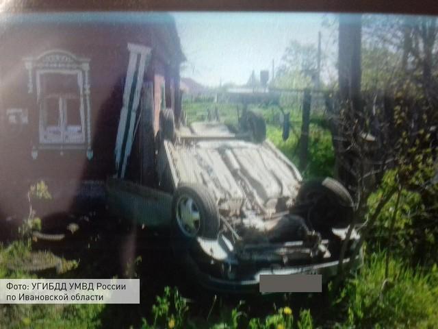 «Лада Приора» пронеслась сквозь забор прямо в дом в Ивановской области фото 2