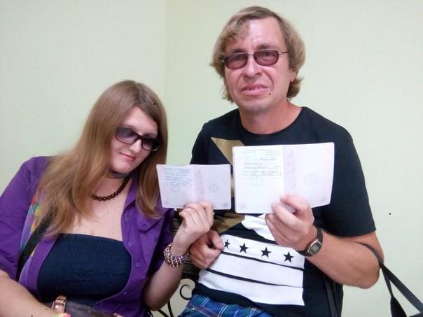 Владимир Фомин с супругой Анастасией Игнашевой