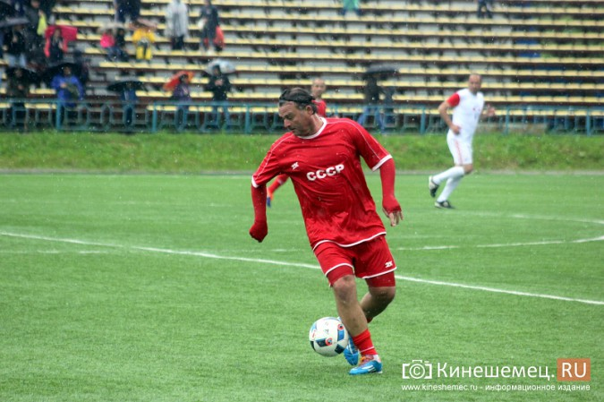 В Ивановской области сыграли звезды советского и российского футбола фото 37