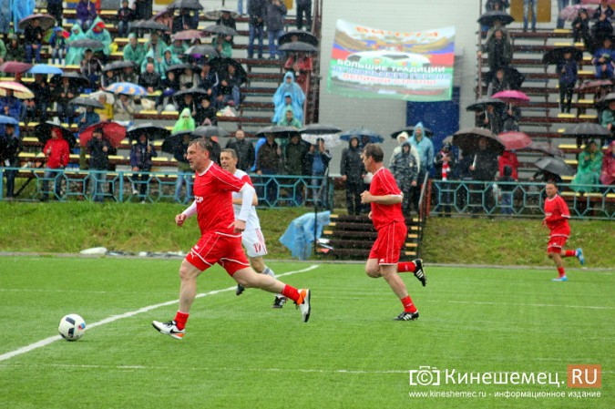 В Ивановской области сыграли звезды советского и российского футбола фото 28