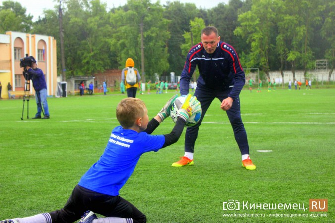В Ивановской области сыграли звезды советского и российского футбола фото 12