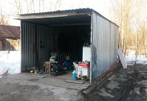 разборный гараж