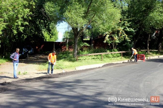 В Кинешме завершается капитальный ремонт улицы Веснина и продолжается на Баха фото 6
