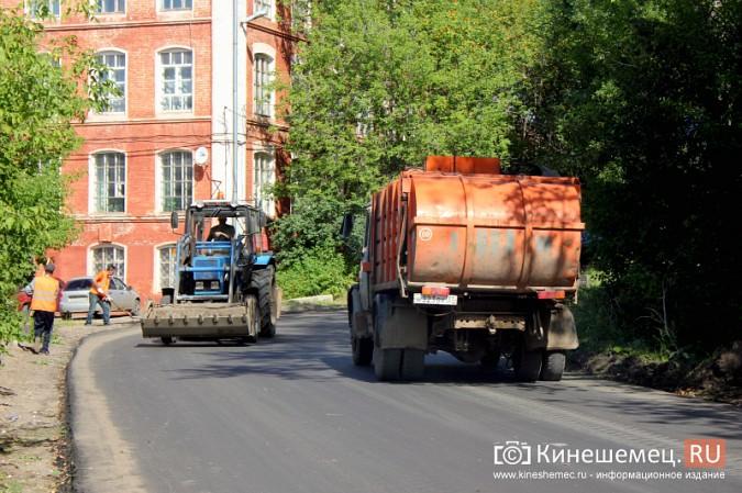 В Кинешме завершается капитальный ремонт улицы Веснина и продолжается на Баха фото 4