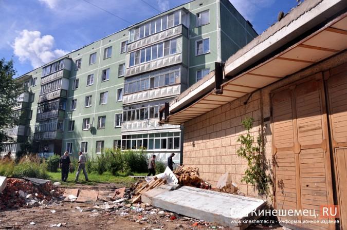 Кинешемцы напуганы ходом работ по реконструкции магазина на улице Маршала Василевского фото 2