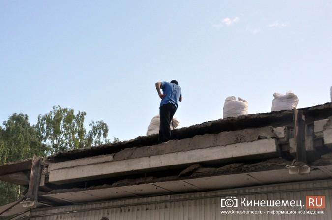 Кинешемцы напуганы ходом работ по реконструкции магазина на улице Маршала Василевского фото 12