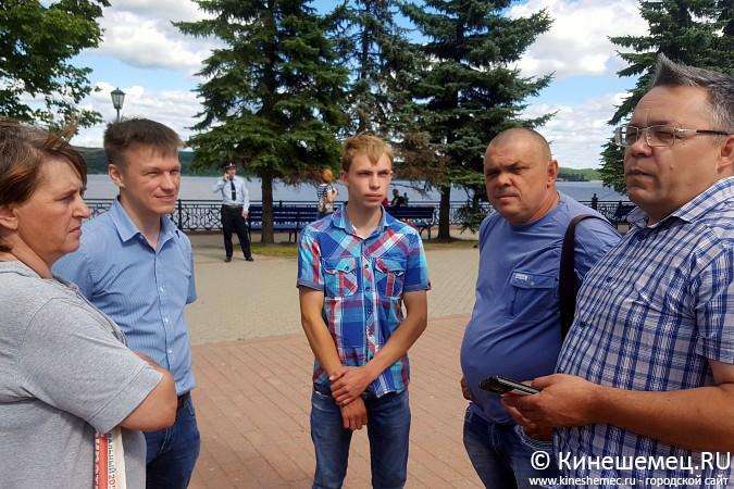 В Кинешме установили агитационный куб Навального фото 6