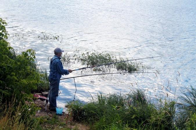 В Кинешме соревновались в ловле на поплавочную удочку фото 7