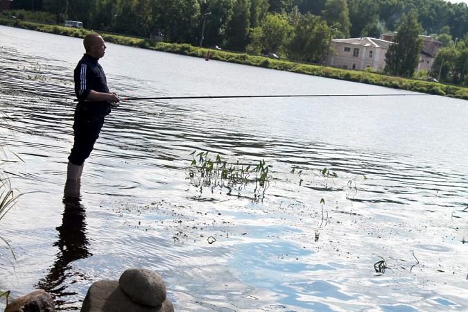 В Кинешме соревновались в ловле на поплавочную удочку фото 12