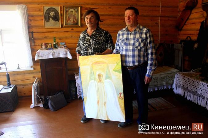Знаменитый художник привез в Кинешму икону святителя Василия фото 5