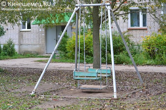 Работы по благоустройству детских площадок в Кинешме завершились, даже не начавшись фото 2