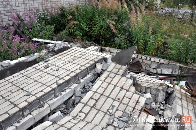 Учебный полигон бывшей химбригады в Кинешме растаскивают по частям фото 21