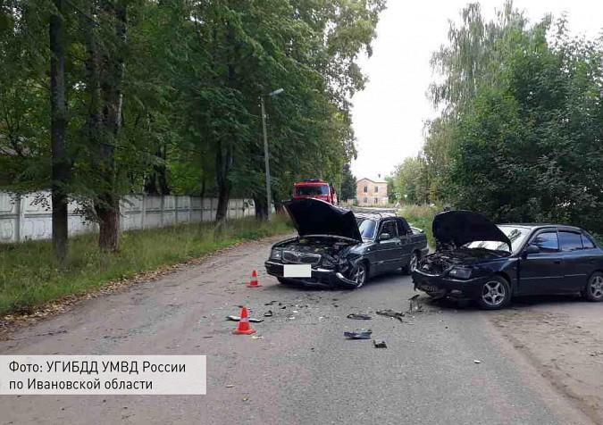 В Кинешме пьяный водитель за рулем «Волги» влетел в иномарку фото 2
