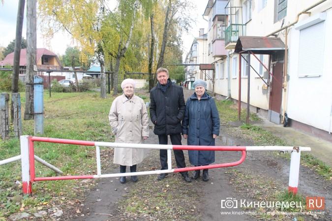 Жителям дома на улице Островского восстановили шлагбаум фото 5