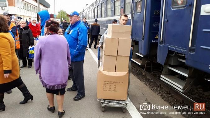 Поезд Жириновского заехал в кинешемский тупик фото 14