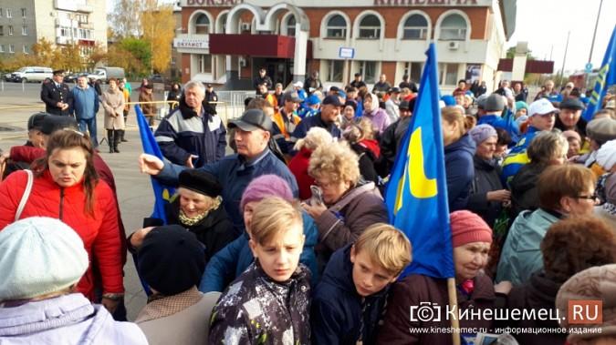 Поезд Жириновского заехал в кинешемский тупик фото 2
