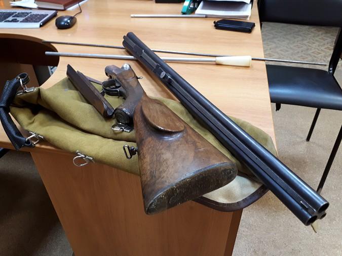 Ивановец добровольно сдал сотрудникам Росгвардии редкую трехстволку фото 2