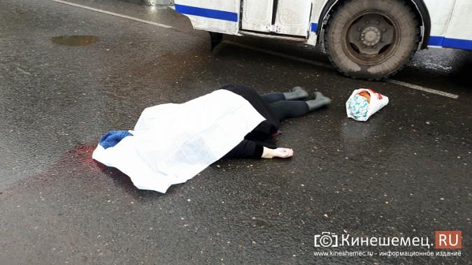 В Кинешме пенсионерка погибла под колесами автобуса фото 2